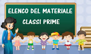 Elenco materiale future classi prime